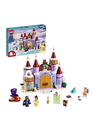 Lego Disney Belles Castle Winter Celebration 43180 Renkli